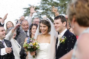 The new Mr & Mrs Benn - Sarah & Andrew