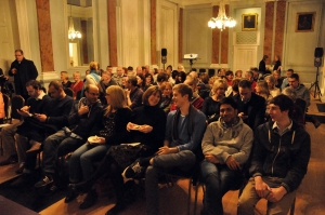 The eager audience