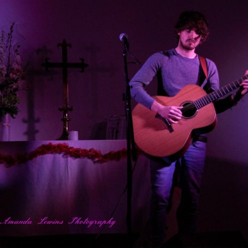 Blair Dunlop at St Barnabas Centre, Oct 2014 - Image by Amanda Lewins Photography