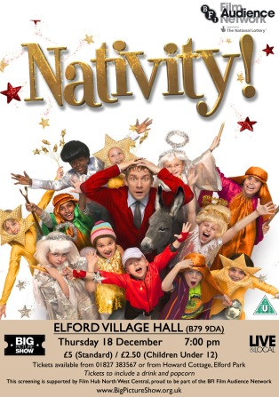Nativity! at Elford Village Hall on Thursday 18th December, 7pm