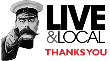 Live & Local Thanks You