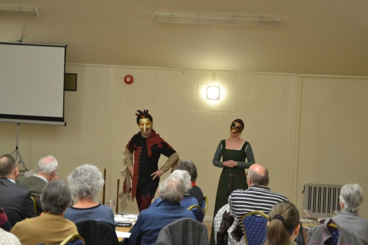 Blast from the Past performing their new show The Canterbury Tales
