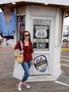 New Admin Assistant Katy on Route 66